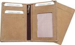 Credit Card Holder in Camel Color