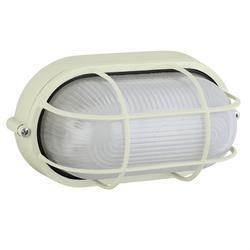 Oval Caged Bunker Light