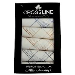 CrossLine Cotton Handkerchief