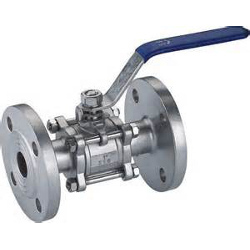 Flanged Three Piece Ball Valve