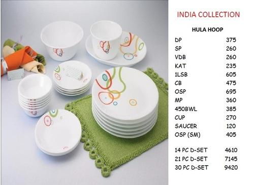 Corelle Hula Hoop Dinnerware 21 PC Set  sc 1 st  IndiaMART & Corelle Hula Hoop Dinnerware 21 Pc Set - Siddharth Enterprise ...