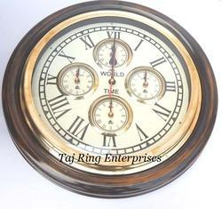 Antique World Wall Clock