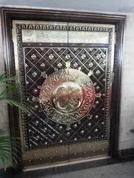Brass Door