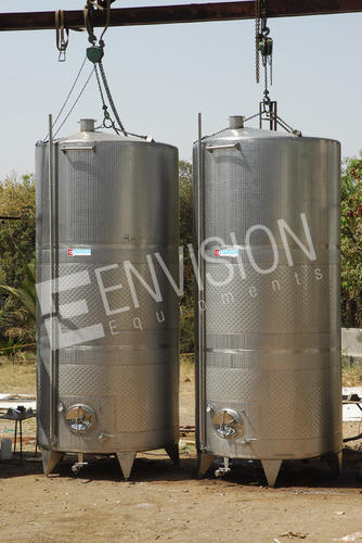 Envision Equipments Ss 304 Winery Equipment, Capacity: 50-65000 Litre