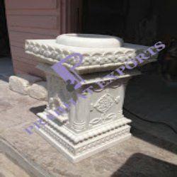 Tulsi Pot Carving
