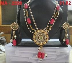 Designer Pink Chain Set