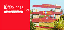 Our Participation at IMTEX 2013