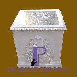 Marble Garden Pots