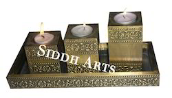 Brass Tea Lights Holder