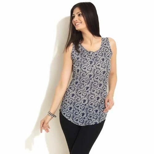 hot-seeling original new styles lowest price Sleeveless Tops, Womens Casual Wear   Nagappa Street ...