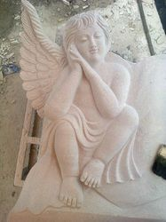 White Sculpture Stone