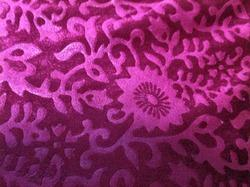 Bright Velour Embossed Fabric