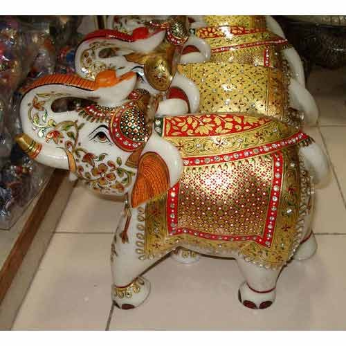 Marble Handicraft Elephant View Specifications Details Of