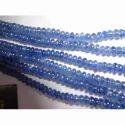 Blue Sapphire Plane Beads