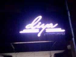 Glow Acrylic Sign Board