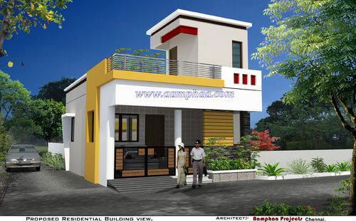 Exterior Elevation Designs Exterior Design Services Aamphaa