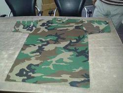 Military Printed T Shirt