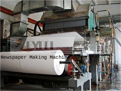Newspaper Making Machine