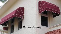 Basket Window Awning