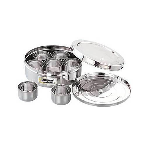b9bf76b630a SS Kitchenware - Stainless Steel Spice Box Wholesaler from Chennai