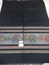 Modal With Elephant Woven Border Stoles