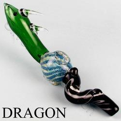 Green Dragon Glass Pipes