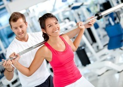 Male And Female Fitness Training