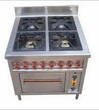 Four Burner Cooking