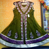 Front Jacket Design Salwar Suit