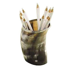 Horn Pencil Cup