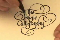 Calligraphy Writing in India