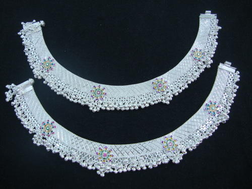 Silver Paayal Anklets Payal Retailer From Cuttack