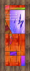 Paper Door Print