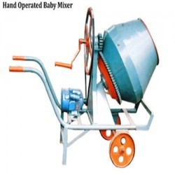 Hand Operated Mixer Machine