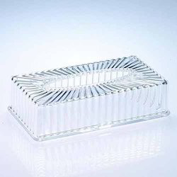 Acrylic Clear Tissue Napkin Holder, For Paper Napkins
