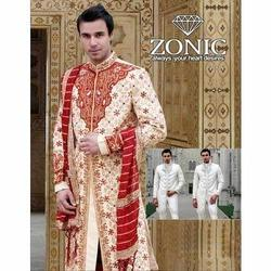 Embroidered Mens Wedding Sherwani