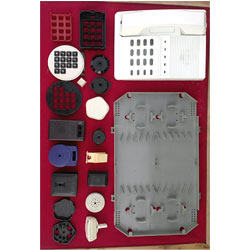 Plastic Molded Telecommunication Parts