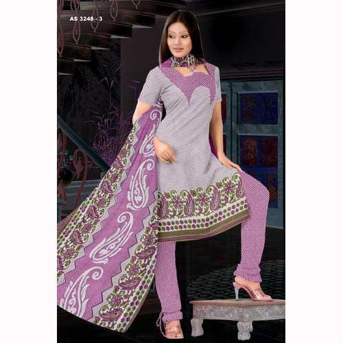 Ladies Cotton Print Suits - View Specifications & Details of ...