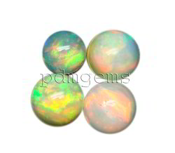 Ethiopian Welo Opal Round Cabochon Gemstones