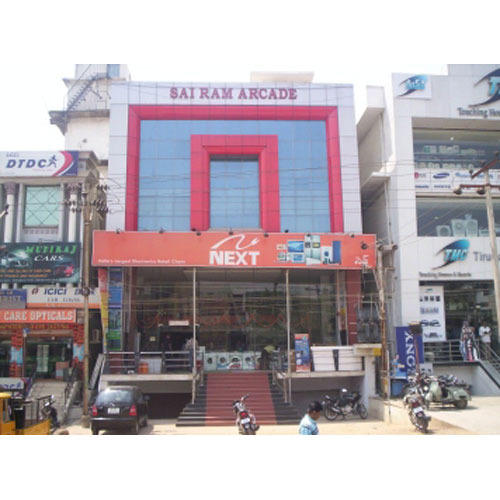 Shop Front Glazing In Hyderabad, P. S. Nagar By Ideas