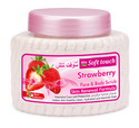Cream Strawberry Scrub, Packaging Size: 150ml, 300ml & 500ml