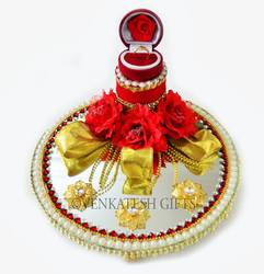 Mirror Ring Tray At Rs 1000 00 Piece Ring Ceremony Tray Id
