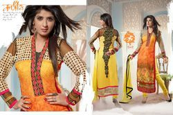 Straight Designer Ladies Suits