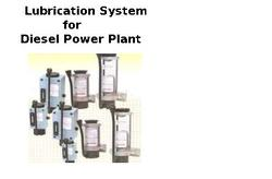 Lubrication System for Diesel Power Plant