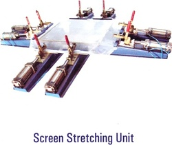 Screen Stretching Unit