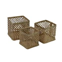 Cast Iron Basket