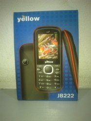 Yellow Mobile Phone: Model No. JB222