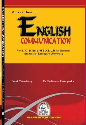 English Books - Communication Skills Book Manufacturer from Dibrugarh