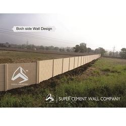 Pretressed Concrete Compound Wall