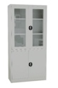 Half Glass Swing Door Cupboard